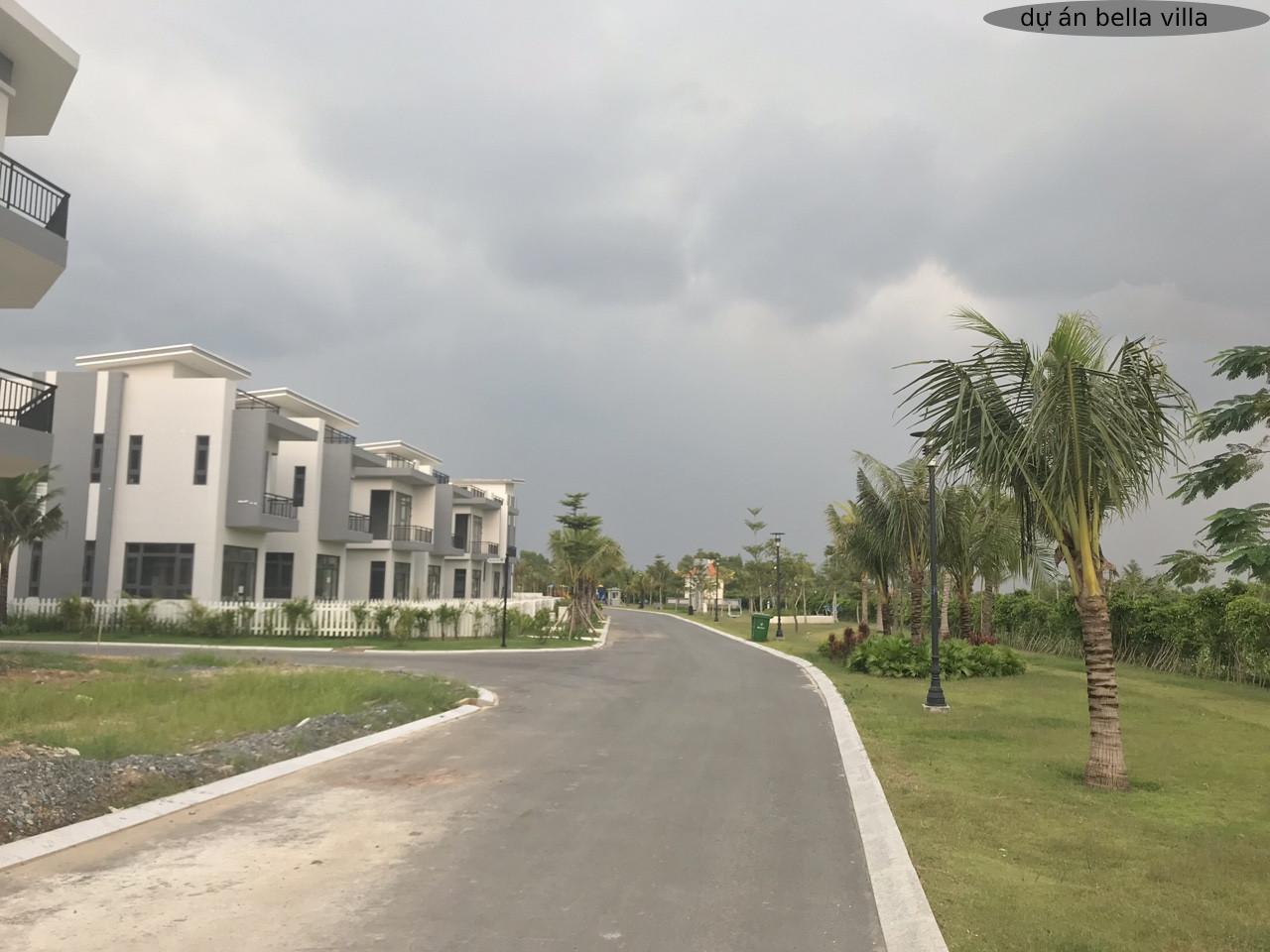 tiến độ dự án bella villa