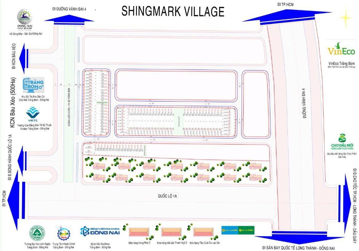 dự án shingmark village