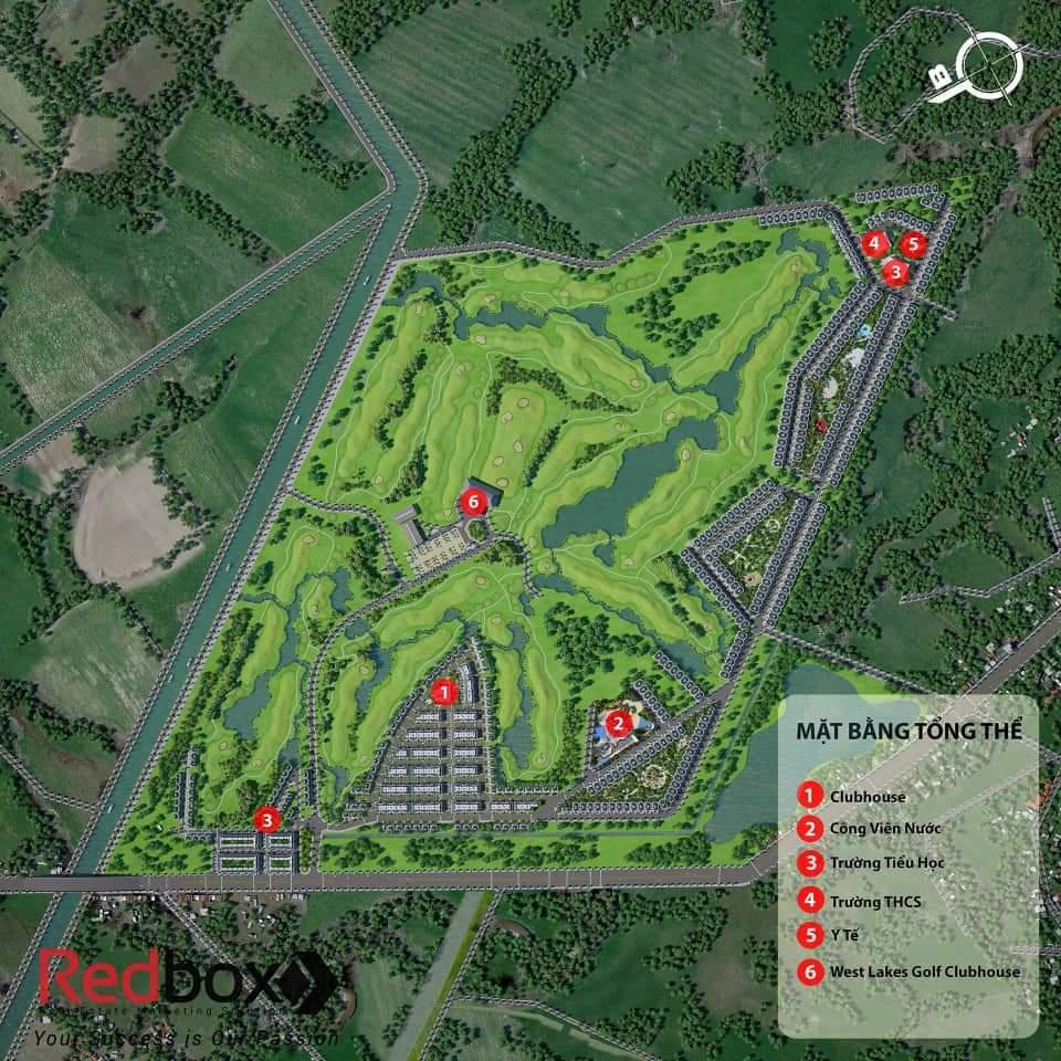 west lakes golf villas đức hòa